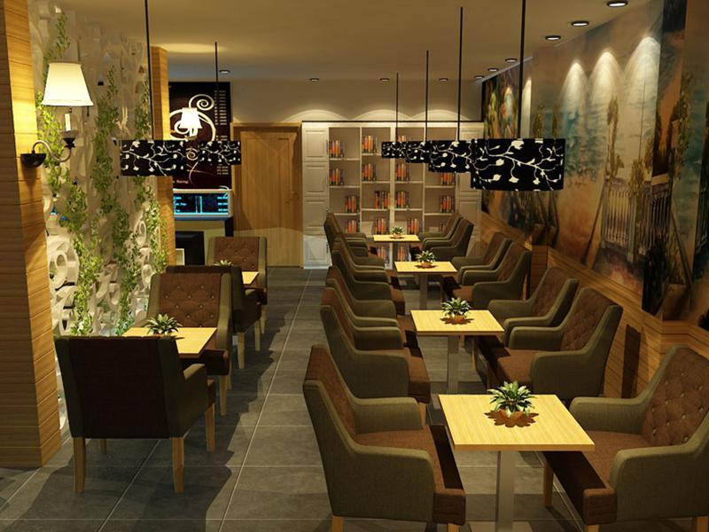 Ghế Sofa Quán Cafe