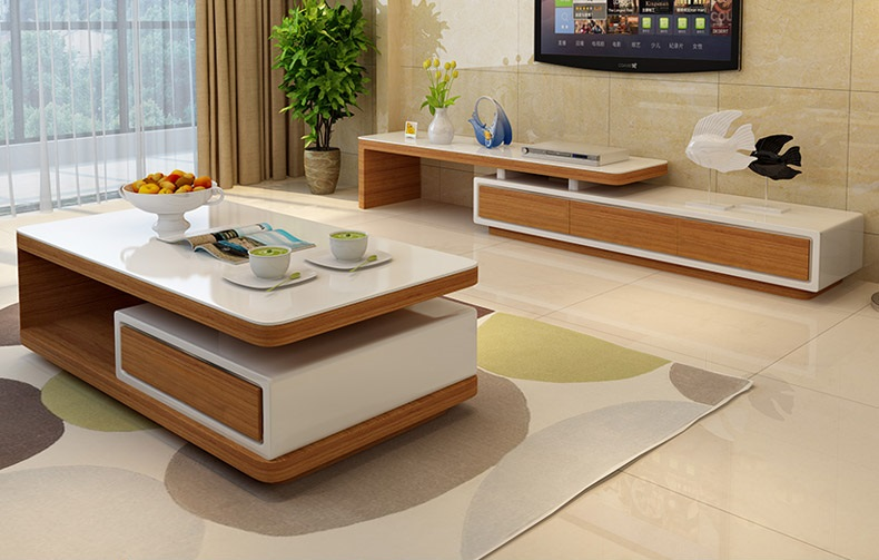 Những mẫu thiết kế kệ tivi gỗ tự nhiên đẹp nhất 2019 2