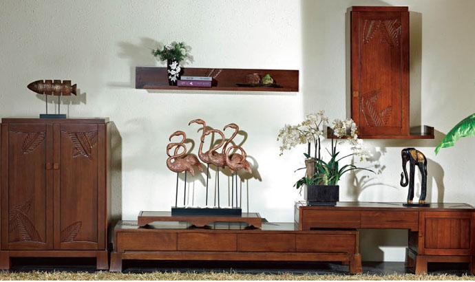 Những mẫu thiết kế kệ tivi gỗ tự nhiên đẹp nhất 2019 4