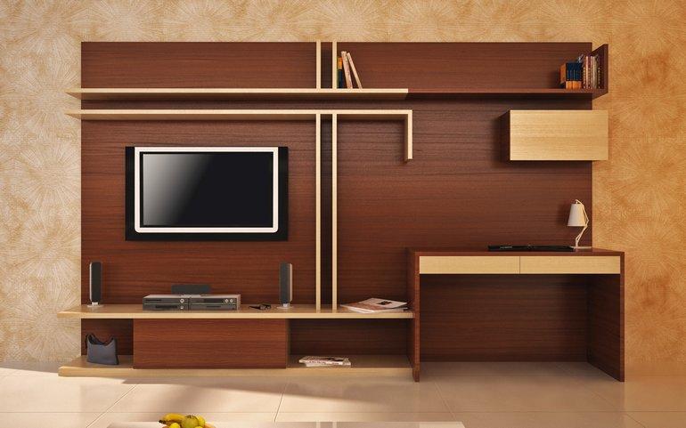 Những mẫu thiết kế kệ tivi gỗ tự nhiên đẹp nhất 2019 6