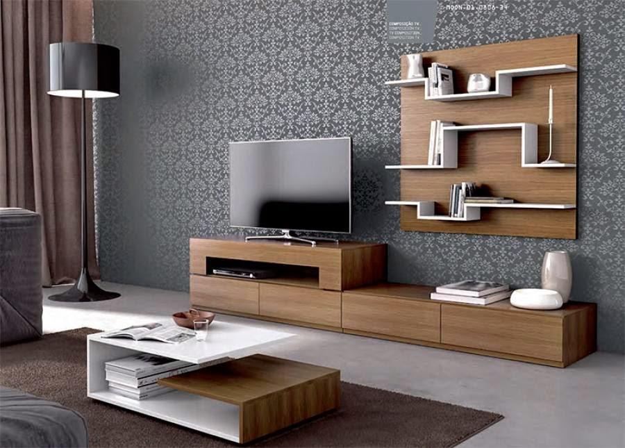 Những mẫu thiết kế kệ tivi gỗ tự nhiên đẹp nhất 2019 7