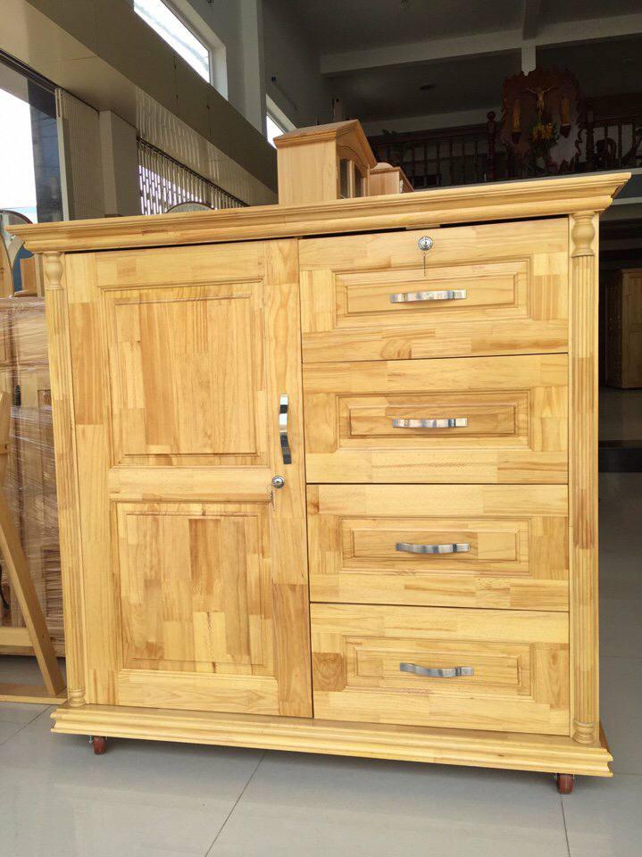 Tủ quần áo gỗ thông
