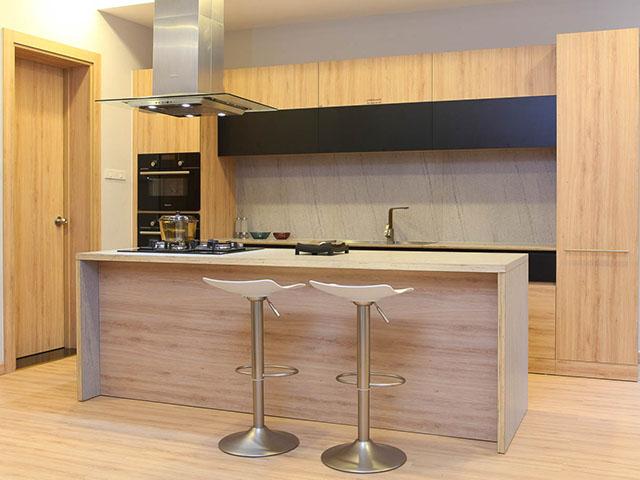 Tủ bếp gỗ MFC