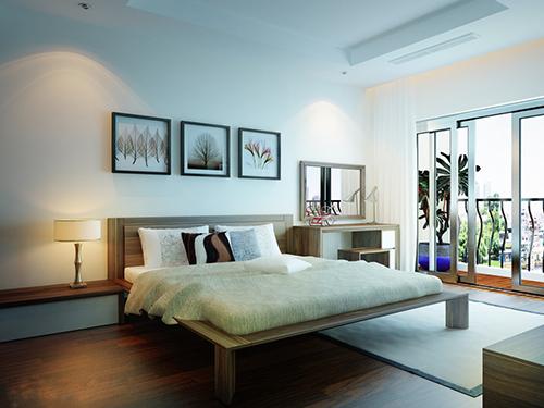 Mẫu thiết kế nội thất cho phòng ngủ lớn