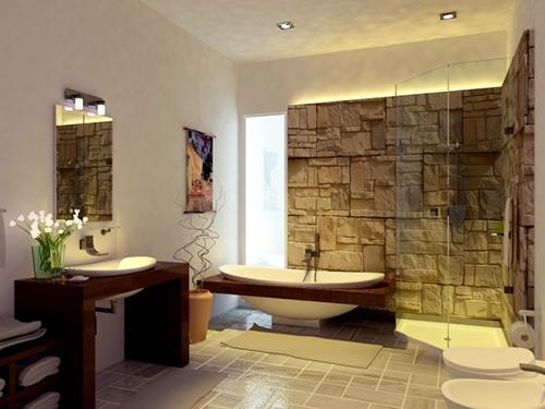 Mẫu thiết kế nội thất cho phòng tắm