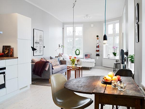 30 ý tưởng thiết kế căn hộ nhỏ đẹp và sang trọng