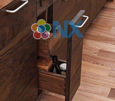 45 mẫu tủ bếp đẹp Mẫu tủ bếp đẹp hình chữ l