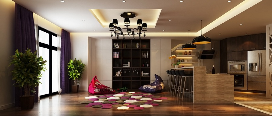 Các phong cách thiết kế nội thất chung cư Xu hướng thiết kế nội thất chung cư 2020