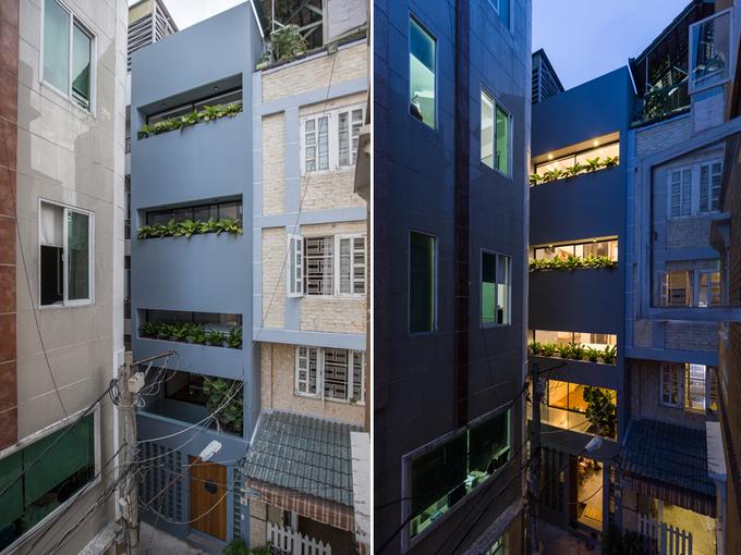 Cải tạo nhà phố 4 tầng Cải tạo nhà ống đơn giản Sửa chữa nhà tại tphcm