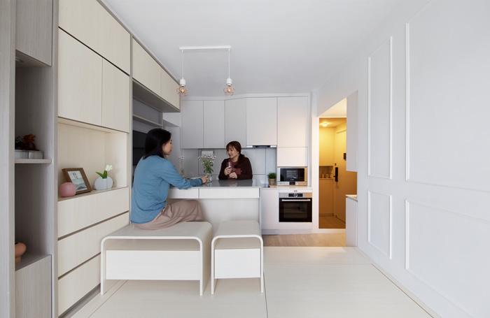 Giải pháp thiết kế nội thất thông minh cho căn hộ nhỏ