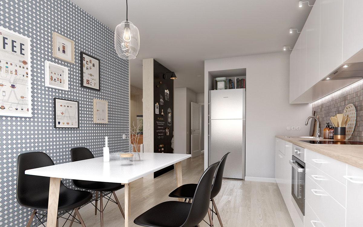 Gợi ý thiết kế phòng bếp trong không gian nhỏ