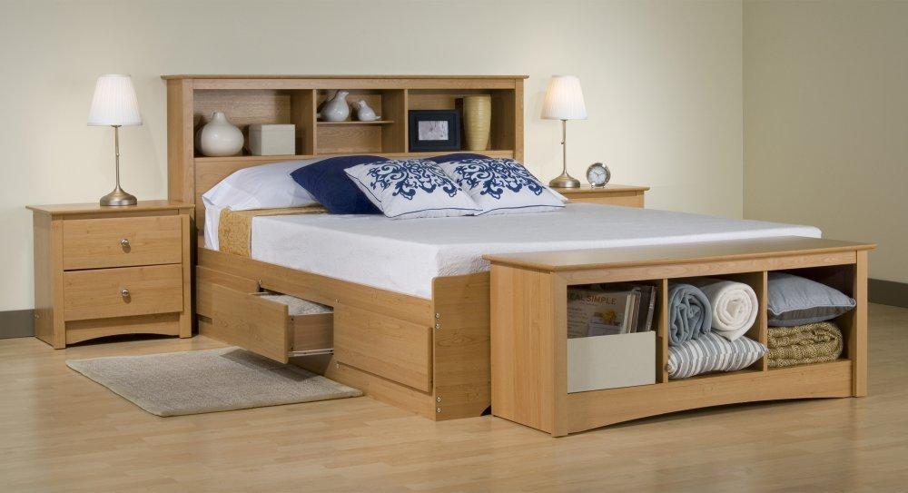 Mẫu giường gỗ đẹp nhất hiện nay Mẫu giường ngủ đẹp gỗ tự nhiên