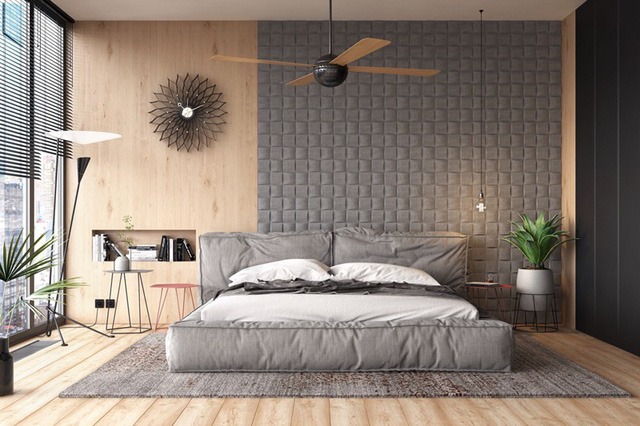 Mẫu phòng ngủ đẹp cho căn hộ chung cư