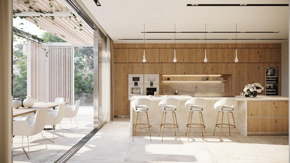Mẫu thiết kế phòng bếp đẹp nhất