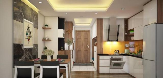 Những mẫu thiết kế nhà bếp đẹp cho nhà chung cư
