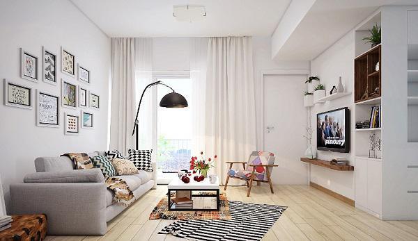 Những phong cách thiết kế nội thất căn hộ phổ biến nhất 2021
