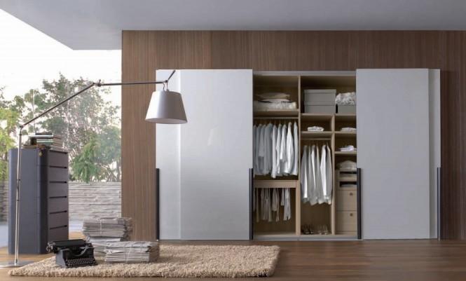 Sắp xếp tủ quần áo theo phong thủy