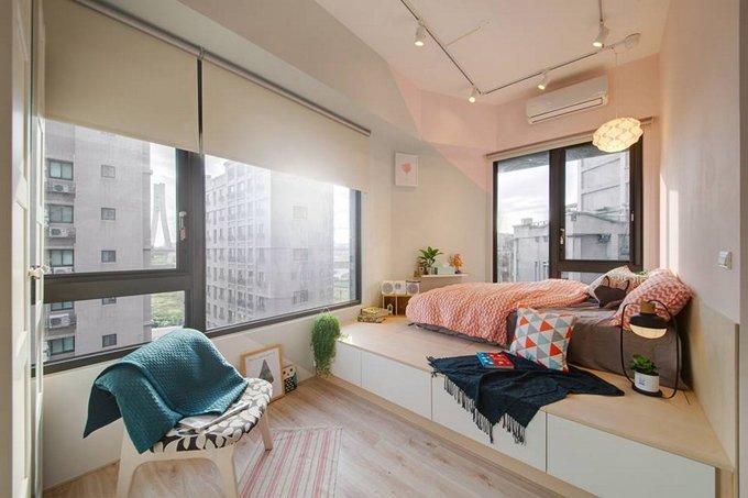 Sửa chữa căn hộ chung cư 33m2 & Thiết kế căn hộ chung cư 33m2