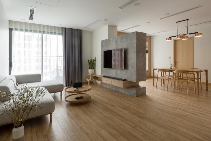 Sửa chữa căn hộ chung cư từ 3 phòng ngủ thành 2 phòng ngủ