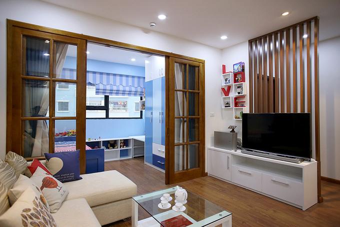 Sửa chung cư 1 phòng ngủ thành 2 phòng ngủ