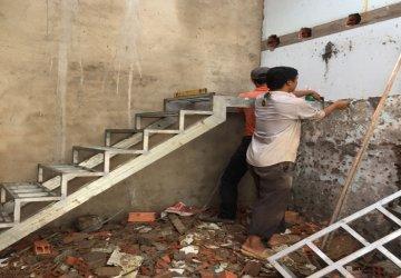 Sửa nhà cấp 4 chị Thu tại Hóc Môn Dịch vụ sửa nhà tại Hóc Môn