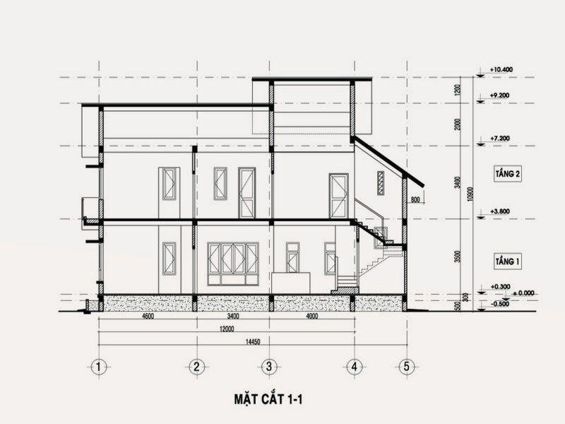 Sửa nhà lên tầng tính chiều cao tầng theo phong thủy