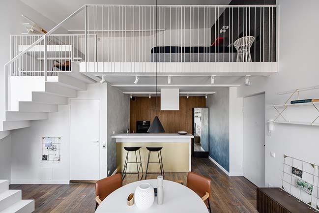 Sửa nhà nâng tầng có nên để phòng ngủ trên phòng bếp không
