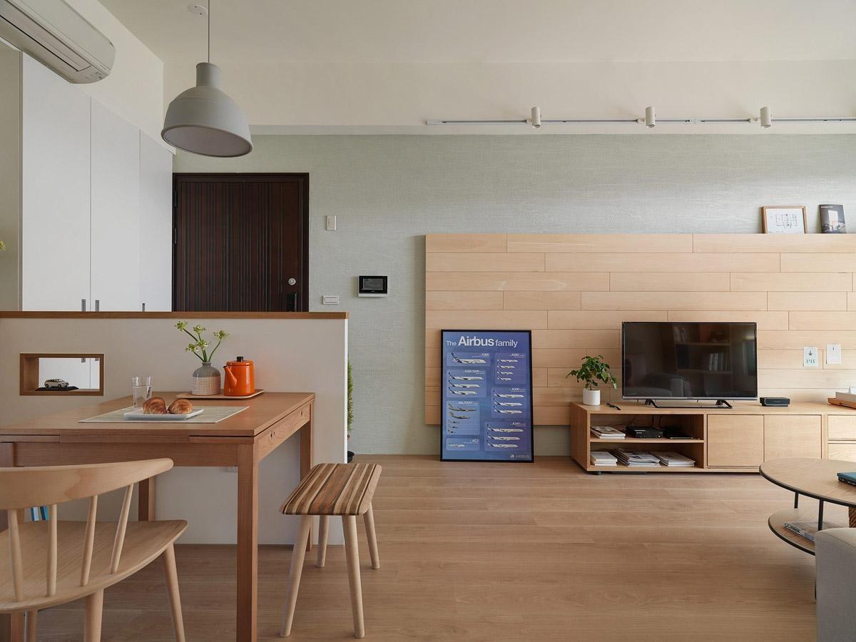Thiết kế căn hộ 100m2 2 phòng ngủ