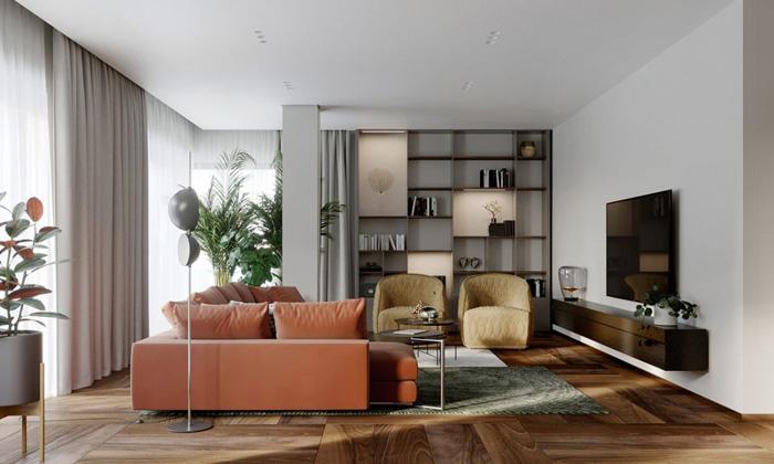 Thiết kế căn hộ 160m2