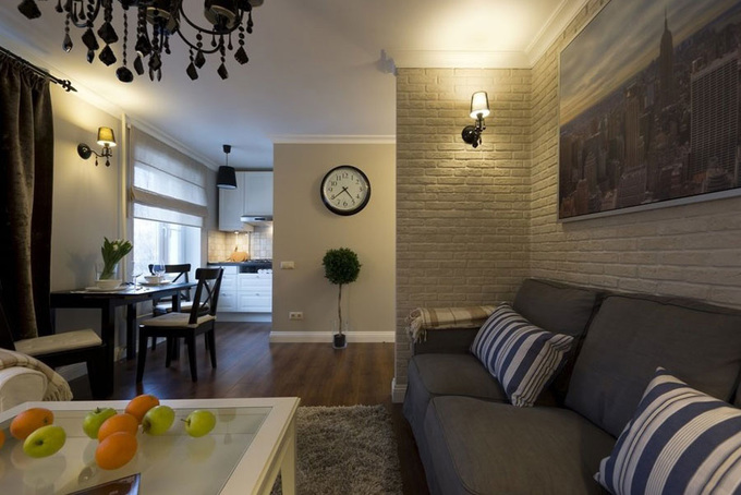 Thiết kế căn hộ 56m2 Thiết kế nội thất căn hộ 56m2 2 phòng ngủ