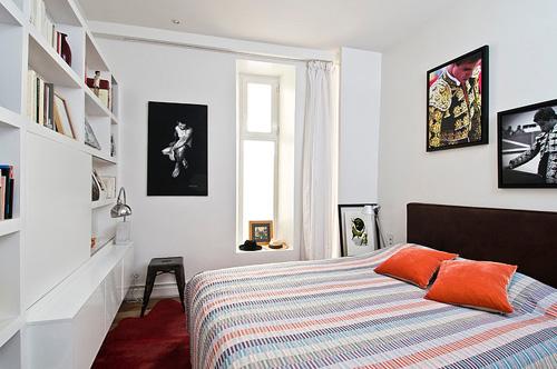 Thiết kế căn hộ 65m2 đẹp theo phong cách Pháp