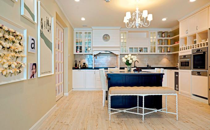 Thiết kế căn hộ chung cư lãng mạn và tiện nghi