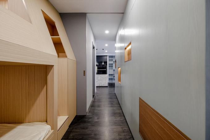 Thiết kế căn hộ đẹp 450 triệu