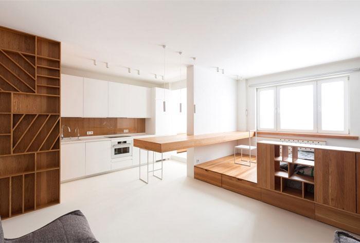 Thiết kế căn hộ theo phong cách tối giản