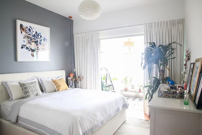 Thiết kế căn hộ với ban công tuyệt đẹp