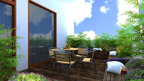 Thiết kế nhà 4 tầng 4x10 đẹp theo phong cách hiện đại