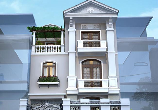 Thiết kế nhà mặt tiền 3.8m