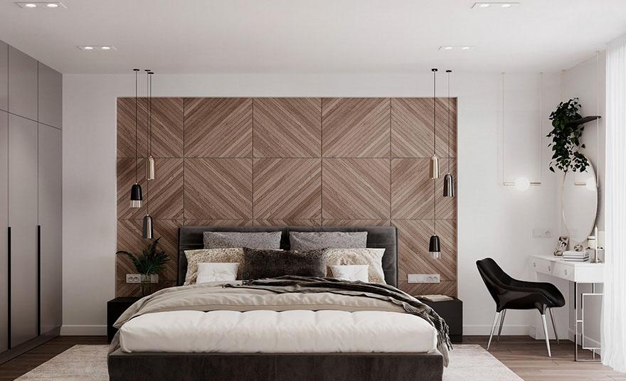 Thiết kế nội thất căn hộ 2 phòng ngủ novaland