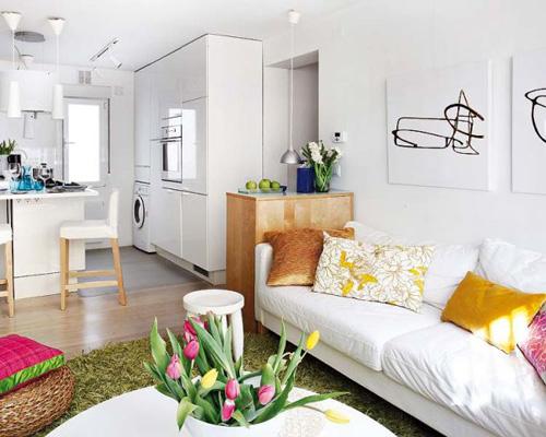 Thiết kế nội thất cho căn hộ 40m2