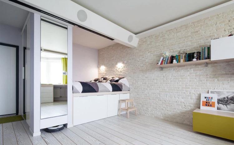 Thiết kế nội thất chung cư 43m2
