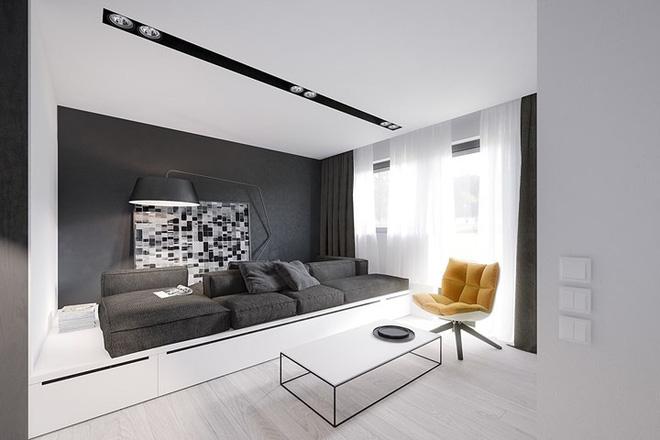 Thiết kế nội thất chung cư 50m2 2 phòng ngủ & Nội thất chung cư nhỏ 50m2