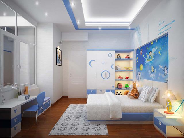 Thiết kế nội thất phòng ngủ trẻ em & Tư vấn thiết kế phòng ngủ cho bé
