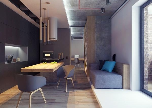 Thiết kế phòng khách đơn giản mà đẹp