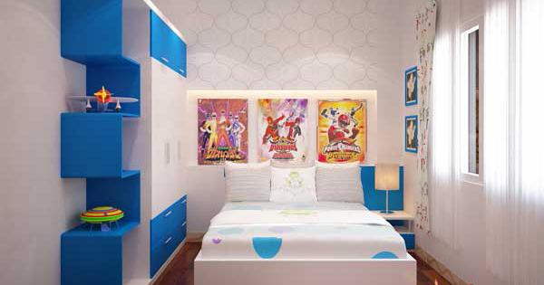 Thiết kế phòng ngủ trẻ em theo phong thủy