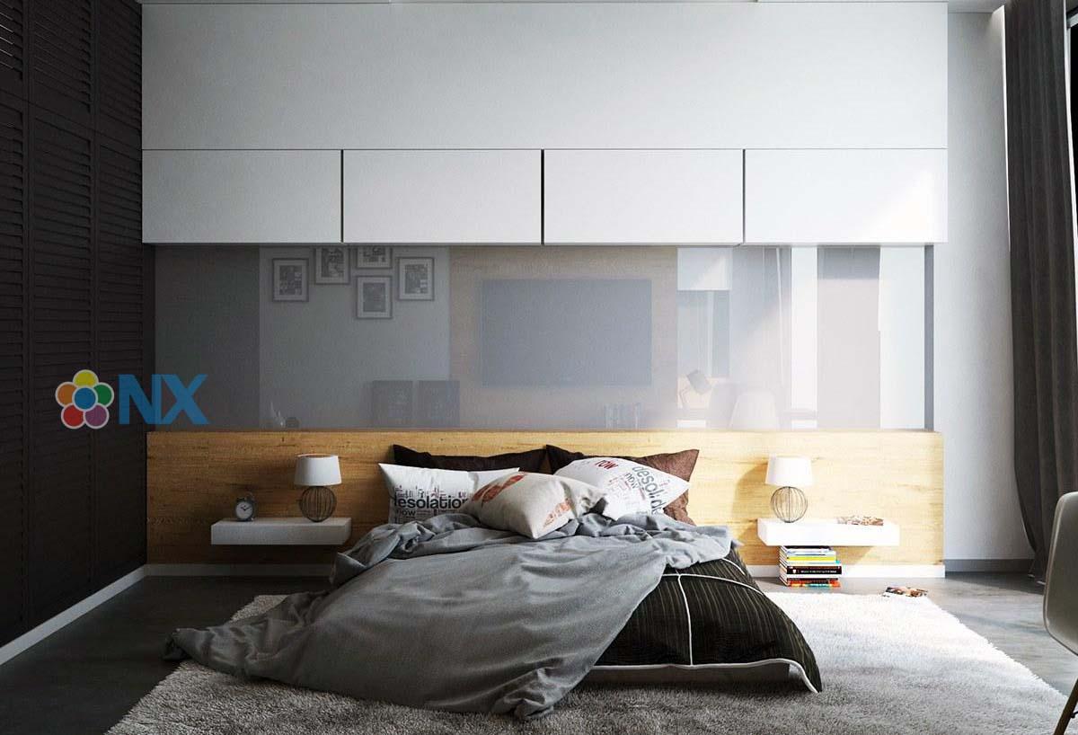 Thiết kế tường phòng ngủ đẹp nhất 2021