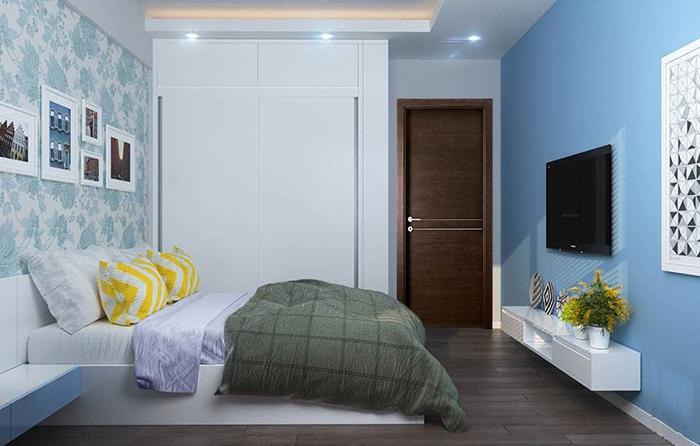 Tính diện tích phòng ngủ