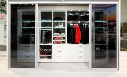 Tủ đựng quần áo thông minh Sắp xếp tủ quần áo thông minh