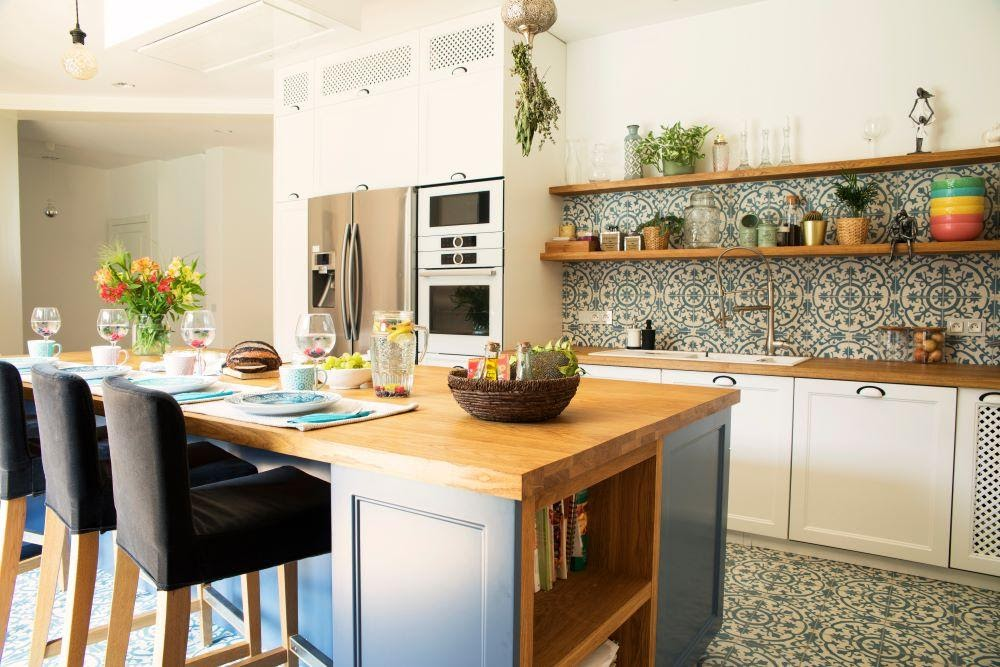 Tủ vấn thiết kế nhà bếp