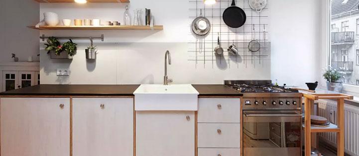 Những điều nên tránh khi bố trí bếp