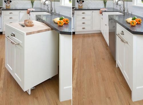 Ý tưởng thiết kế phòng bếp thông minh